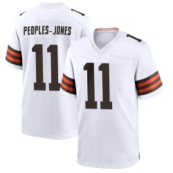 Donovan Peoples-Jones Cleveland Browns Men's Game Nike Jersey - White