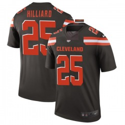 Dontrell Hilliard Cleveland Browns Men's Legend Nike Jersey - Brown