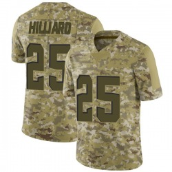 Dontrell Hilliard Cleveland Browns Youth Limited 2018 Salute to Service Nike Jersey - Camo