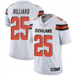 Dontrell Hilliard Cleveland Browns Youth Limited Vapor Untouchable Nike Jersey - White