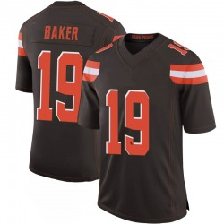 Dorian Baker Cleveland Browns Men's Limited 100th Vapor Nike Jersey - Brown