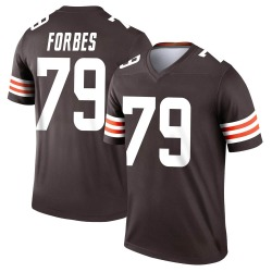 Drew Forbes Cleveland Browns Youth Legend Nike Jersey - Brown