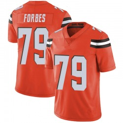 Drew Forbes Cleveland Browns Youth Limited Alternate Vapor Untouchable Nike Jersey - Orange