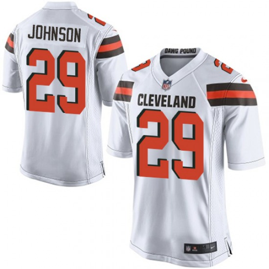 Duke Johnson Cleveland Browns Men's Game Jersey - White
