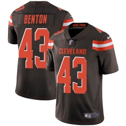 Elijah Benton Cleveland Browns Youth Limited Team Color Vapor Untouchable Nike Jersey - Brown