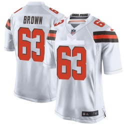 Evan Brown Cleveland Browns Youth Game Nike Jersey - White