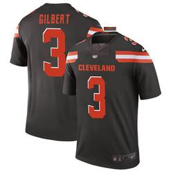 Garrett Gilbert Cleveland Browns Men's Legend Nike Jersey - Brown