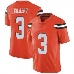 Garrett Gilbert Cleveland Browns Men's Limited Alternate Vapor Untouchable Nike Jersey - Orange