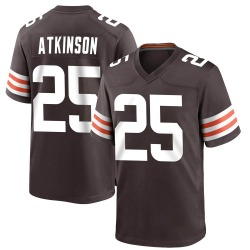 George Atkinson Cleveland Browns Youth Game Team Color Nike Jersey - Brown
