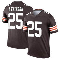 George Atkinson Cleveland Browns Youth Legend Nike Jersey - Brown