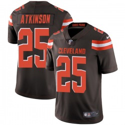 George Atkinson Cleveland Browns Youth Limited Team Color Vapor Untouchable Nike Jersey - Brown