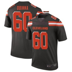 George Obinna Cleveland Browns Youth Legend Nike Jersey - Brown