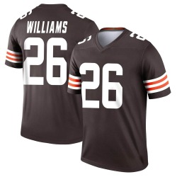 Greedy Williams Cleveland Browns Men's Legend Nike Jersey - Brown