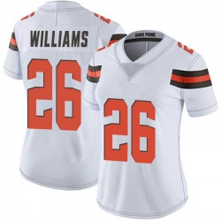 Greedy Williams Cleveland Browns Women's Limited Vapor Untouchable Nike Jersey - White