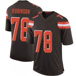 Greg Robinson Cleveland Browns Men's Limited 100th Vapor Nike Jersey - Brown