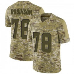 Greg Robinson Cleveland Browns Men's Limited 2018 Salute to Service Nike Jersey - Camo