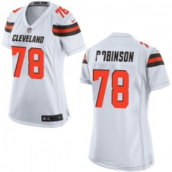 Greg Robinson Cleveland Browns Women's Game Nike Jersey - White