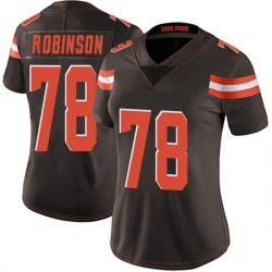 Greg Robinson Cleveland Browns Women's Limited Team Color Vapor Untouchable Nike Jersey - Brown