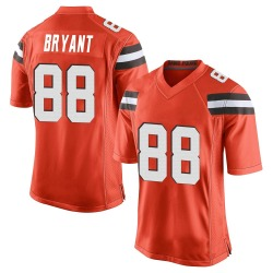 Harrison Bryant Cleveland Browns Men's Game Alternate Nike Jersey - Orange