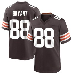 Harrison Bryant Cleveland Browns Men's Game Team Color Nike Jersey - Brown