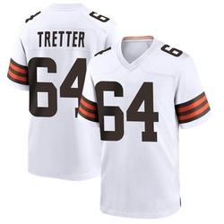 JC Tretter Cleveland Browns Men's Game Nike Jersey - White