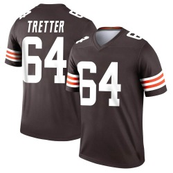JC Tretter Cleveland Browns Men's Legend Jersey - Brown