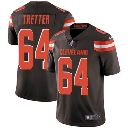JC Tretter Cleveland Browns Men's Limited Team Color Vapor Untouchable Nike Jersey - Brown