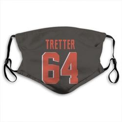 JC Tretter Cleveland Browns Reusable & Washable Face Mask