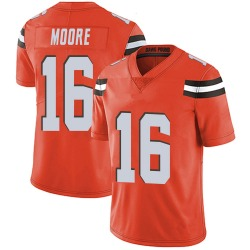 J'Mon Moore Cleveland Browns Youth Limited Alternate Vapor Untouchable Nike Jersey - Orange