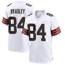 Ja'Marcus Bradley Cleveland Browns Men's Game Nike Jersey - White