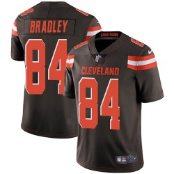 Ja'Marcus Bradley Cleveland Browns Youth Limited Team Color Vapor Untouchable Nike Jersey - Brown