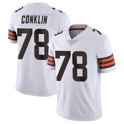 Jack Conklin Cleveland Browns Men's Limited Vapor Untouchable Nike Jersey - White