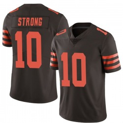 Jaelen Strong Cleveland Browns Youth Limited Color Rush Nike Jersey - Brown