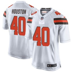 Jameson Houston Cleveland Browns Men's Game Nike Jersey - White