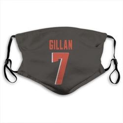 Jamie Gillan Cleveland Browns Reusable & Washable Face Mask