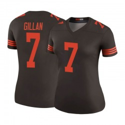 Jamie Gillan Cleveland Browns Women's Color Rush Legend Nike Jersey - Brown