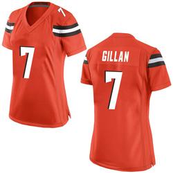 Jamie Gillan Cleveland Browns Women's Game Alternate Nike Jersey - Orange