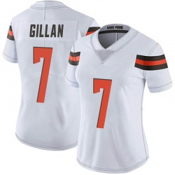 Jamie Gillan Cleveland Browns Women's Limited Vapor Untouchable Nike Jersey - White