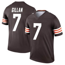 Jamie Gillan Cleveland Browns Youth Legend Nike Jersey - Brown