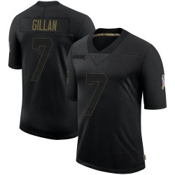 Jamie Gillan Cleveland Browns Youth Limited 2020 Salute To Service Nike Jersey - Black