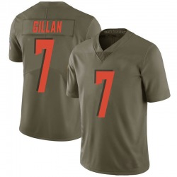 Jamie Gillan Cleveland Browns Youth Limited Salute to Service Nike Jersey - Green