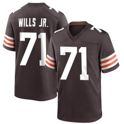 Jedrick Wills Jr. Cleveland Browns Men's Game Team Color Nike Jersey - Brown