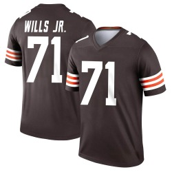 Jedrick Wills Jr. Cleveland Browns Men's Legend Nike Jersey - Brown