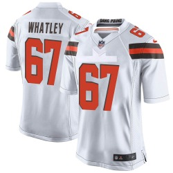 Jeffery Whatley Cleveland Browns Youth Game Nike Jersey - White
