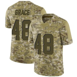 Jermaine Grace Cleveland Browns Men's Limited 2018 Salute to Service Nike Jersey - Camo