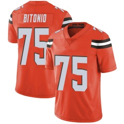 Joel Bitonio Cleveland Browns Youth Limited Alternate Vapor Untouchable Nike Jersey - Orange