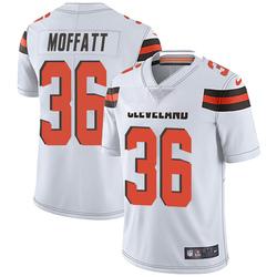 Jovante Moffatt Cleveland Browns Men's Limited Vapor Untouchable Nike Jersey - White