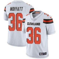 Jovante Moffatt Cleveland Browns Youth Limited Vapor Untouchable Nike Jersey - White