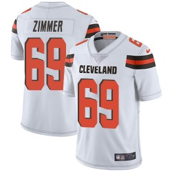 Justin Zimmer Cleveland Browns Youth Limited Vapor Untouchable Nike Jersey - White