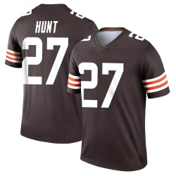 Kareem Hunt Cleveland Browns Men's Legend Nike Jersey - Brown